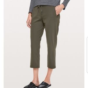 On the fly crop lululemon pant
